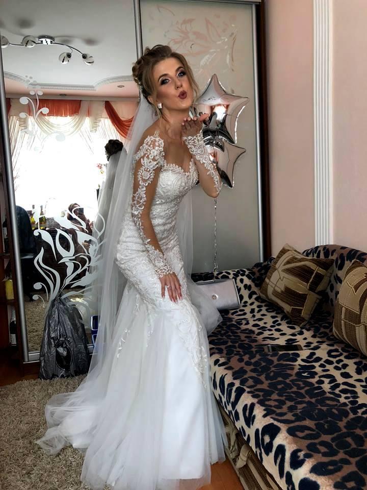 ca89ae216d2ac6 Весільна сукня POLLARDI, Тернопіль, Б/у весільні сукні, vesilna suknya