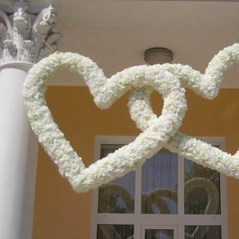 Сделать сердце своими руками свадебное 885
