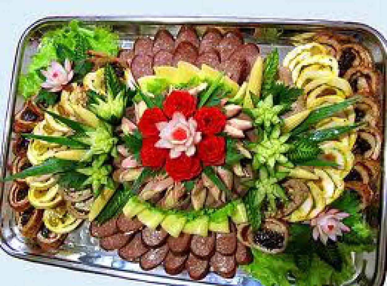 Рецепты блюд на свадьбу в домашних условиях с фото
