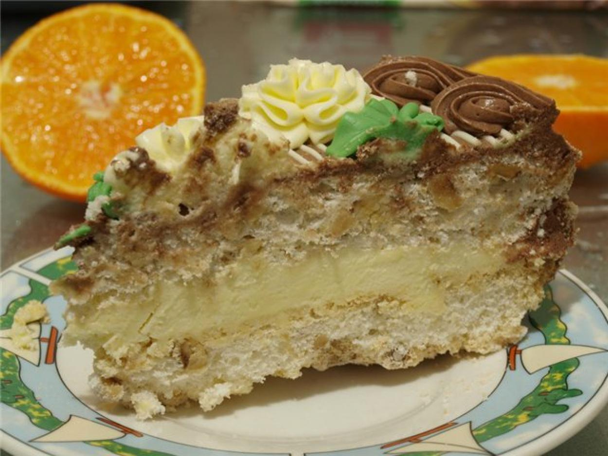 Вкусный рецепт киевского торта в домашних условиях