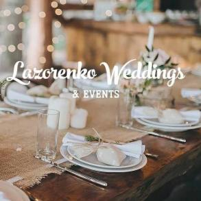 Lazorenko Weddings EVENTS
