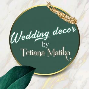 Wedding decor by Tetyana Matiko