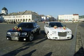 Кортеж Chrysler 300c