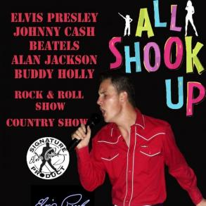 Country show, Elvis Presley show, Rock & Roll show
