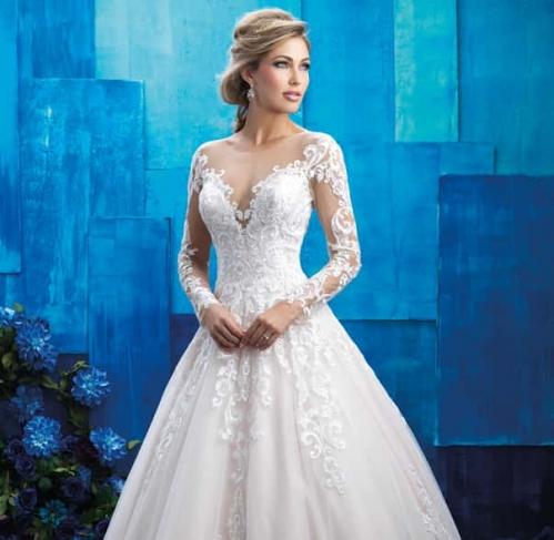 Модні весільні сукні сезону 2017 53954dd15510e